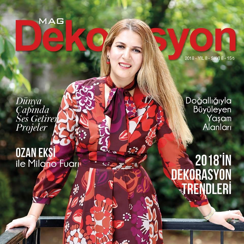 Evren Yiğit   Mag Dergisi Dekorasyon Sayısı   Sıradışı Digital