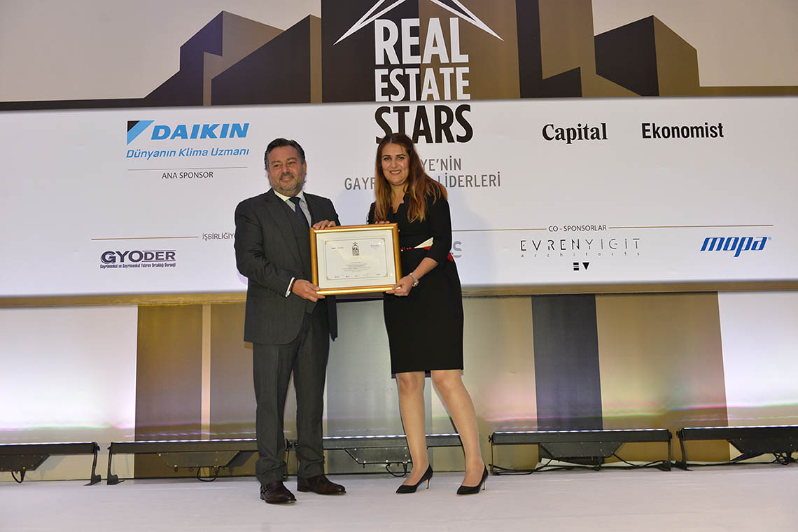 Evren Yiğit | Real Estate Stars (Turkey's Real Estate Leaders) organized for the first time by Capital and Economist magazines | Sıradışı Digital