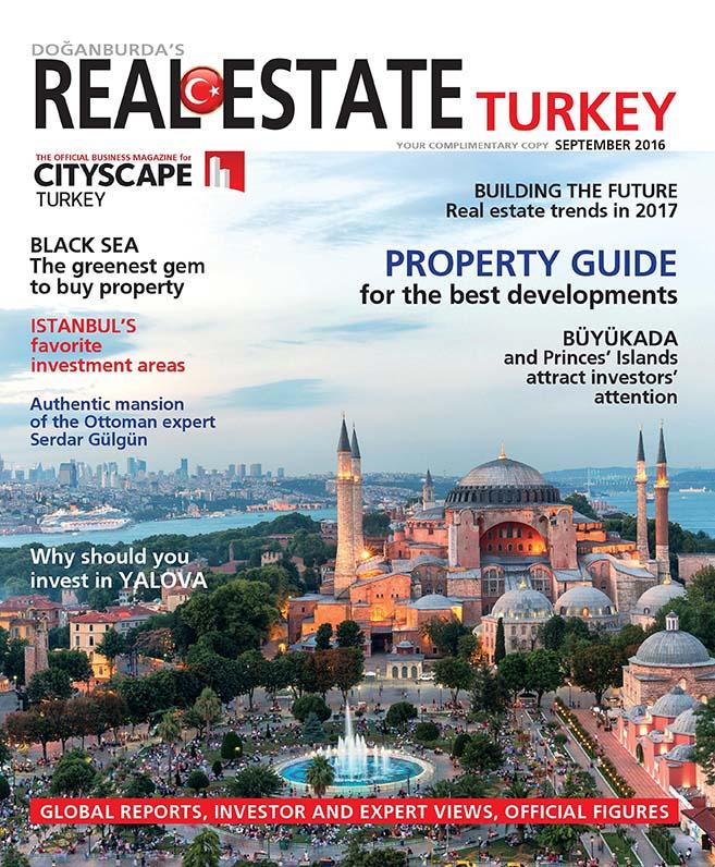 Evren Yiğit | Evren Yiğit, Real Estate Turkey Eylül 2016 sayısında | Sıradışı Digital